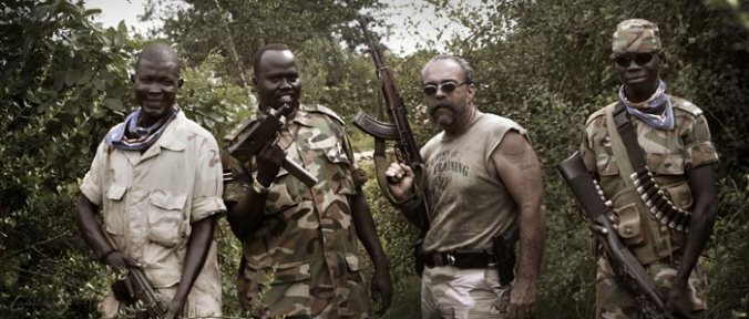 sam childers with southern sudanese militia