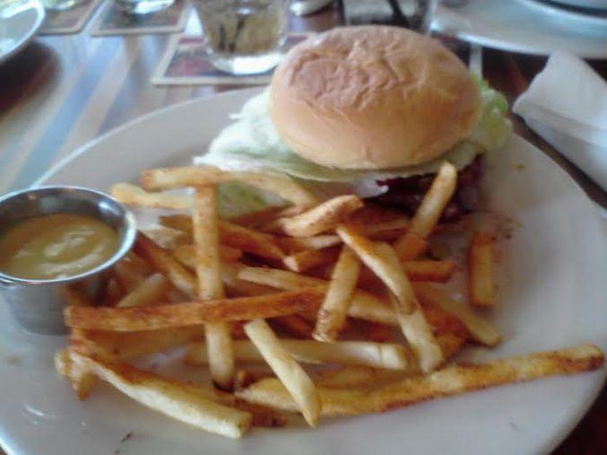 The Brazilian Burger at Berries