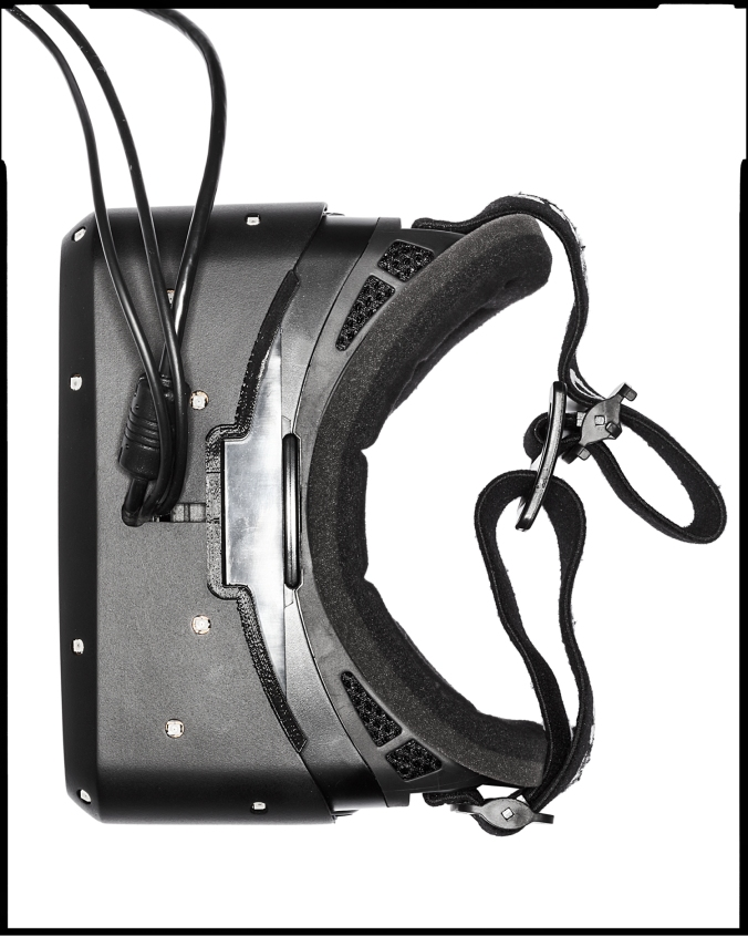 Oculus Rift Overhead Image
