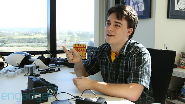 Palmer Luckey, 21 year old Founder of Oculus and creator of the Rift