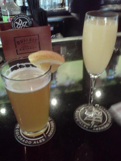 Blue Moon and Mimosa