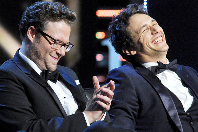 Seth Rogan (Left) and James Franco (Right)