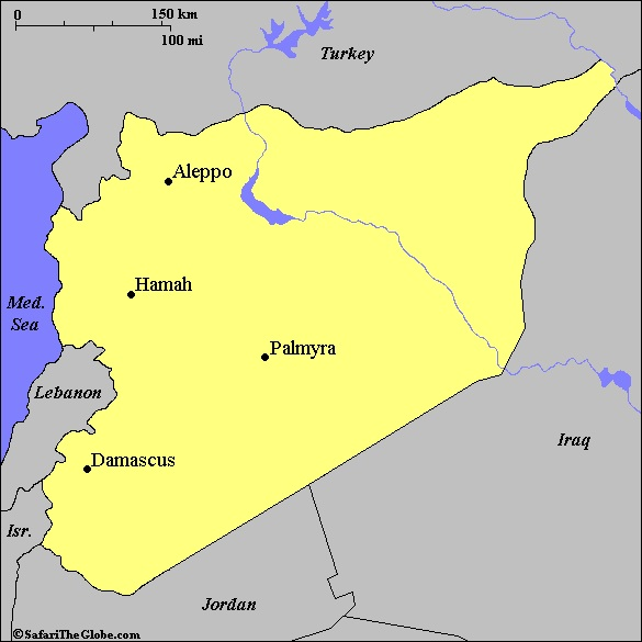 Syria's major cities