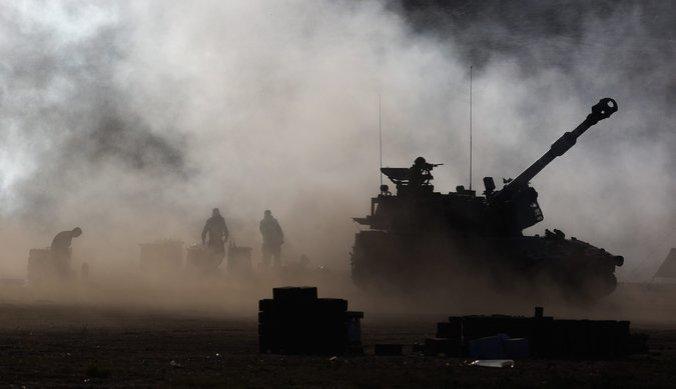 Israeli Tanks Mobilized in Gaza
