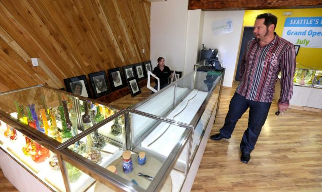 Marijuana shop in Washington