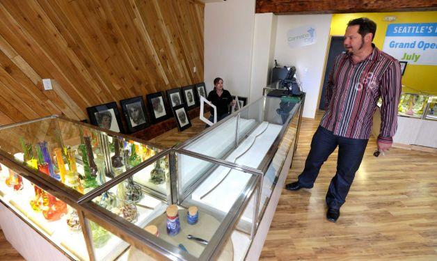 Marijuana shop in Washington