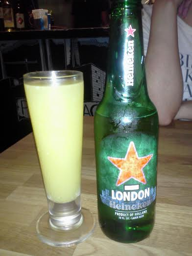 Mimosa and Heineken