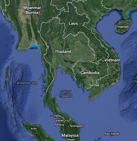 Thailand and its neighbors