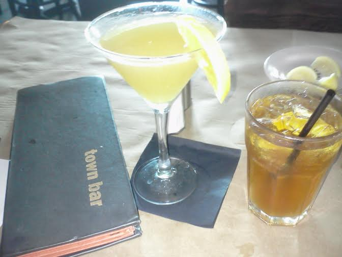 Town - Bellini Proper, Bourbon Tea and Menu