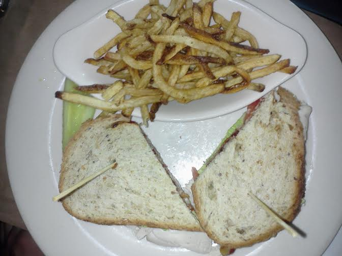 Town - Turkey Club with Skinny Fries